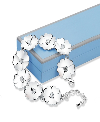 Newbridge LB409 Waterlily link Bracelet