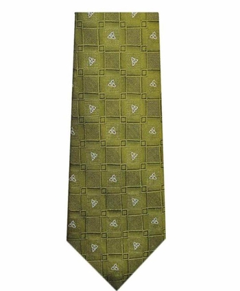 Silk Celtic Note Tie Patrick Francis