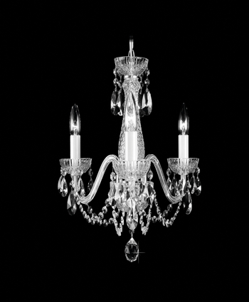Waterford Marquis 3 Arm Crystal Chandelier