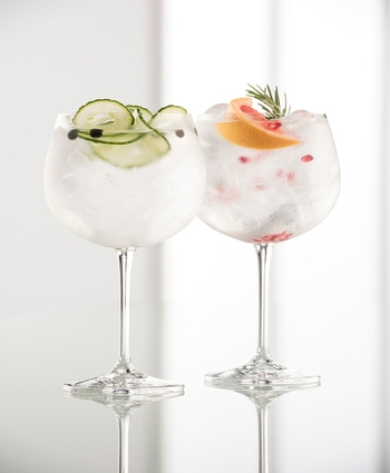 Galway Crystal Gin & Tonic Glasses ** Special