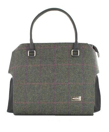 Forest Green - Mucros Emily Tweed Bag
