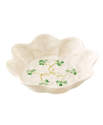 Belleek Classic Shamrock Sweet Dish