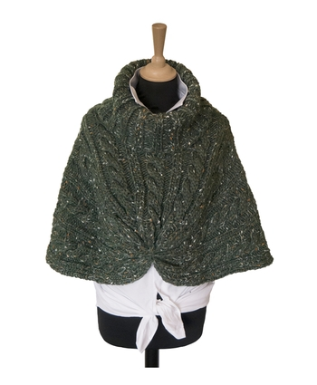 BOTTLE WOOL CAPE