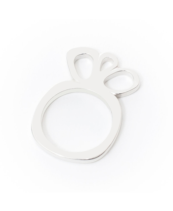 Constance Stacking Ring 3 (wide) Silver