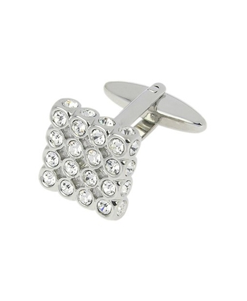 Tipperary Square Crystal Cufflink