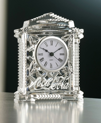 Galway Crystal Personalized Lynch Carriage Clock