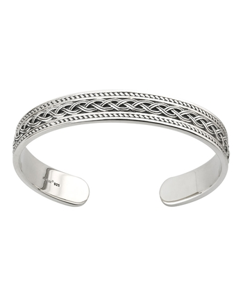 HEAVY CELTIC KNOT BANGLE