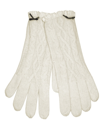 Crm Angora Lace Gloves