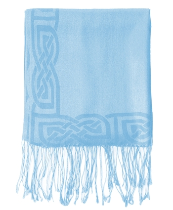 Powder Blue Pashmina Scarf