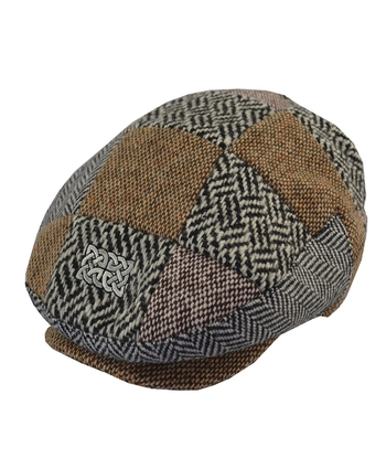 MULTI TWEED FLAT CAP