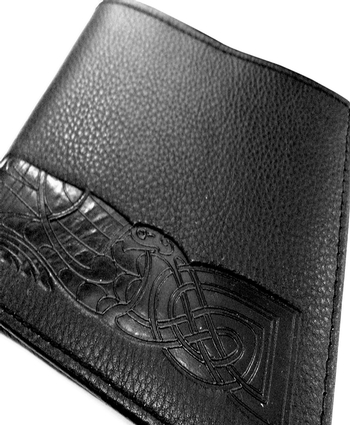BLK CELTIC BAND WALLET