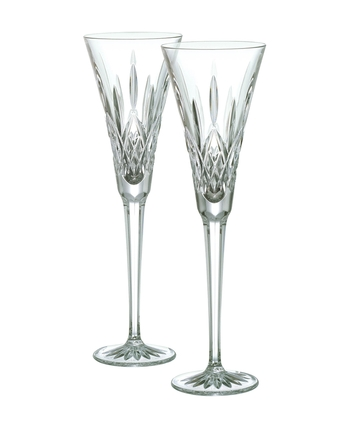 Waterford Lismore Toasting Flute Pair 23cm