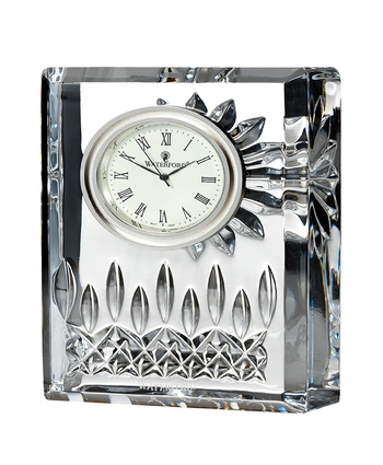 Waterford Lismore Small Clock 10cm