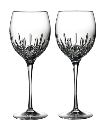 Waterford Crystal Lismore Essence Balloon Wine Pair 21.4cm