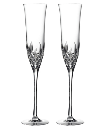 Waterford Lismore Essence Champagne Flute Pair 27.5cm