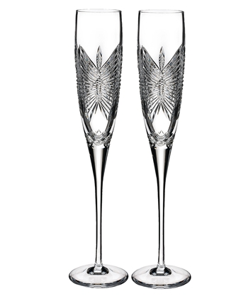 Waterford Crystal Happiness Flute Pair