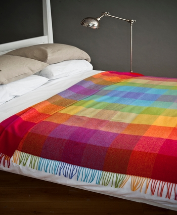 Avoca LAMBSWOOL THROW WR73