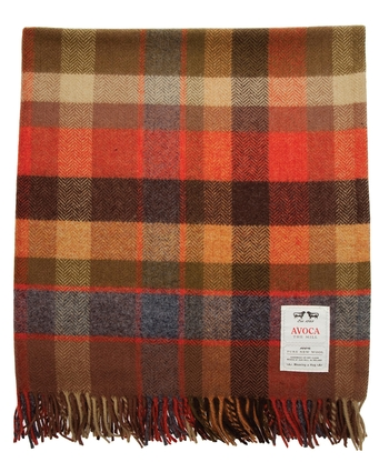 Avoca LAMBSWOOL THROW WR94