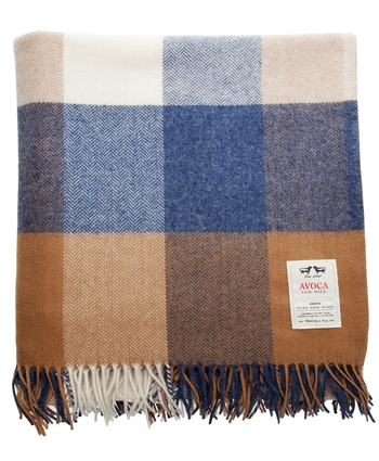 Avoca LAMBSWOOL THROW WR81