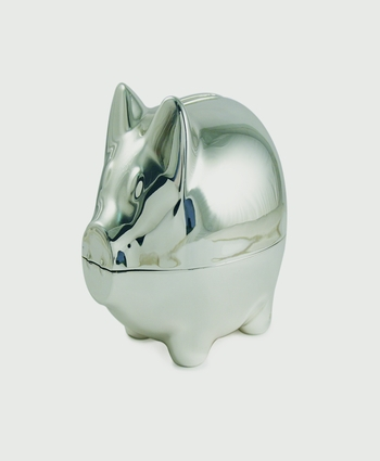 Tipperary Silver Piggy Money Bank (NEW 2016)