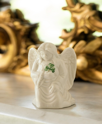 Belleek Classic Angel of Protection