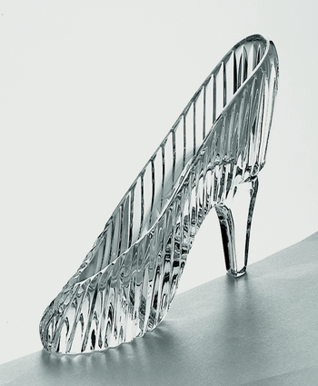 Galway Crystal Slipper