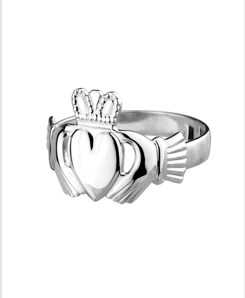 Maids Light Claddagh Sterling Silver