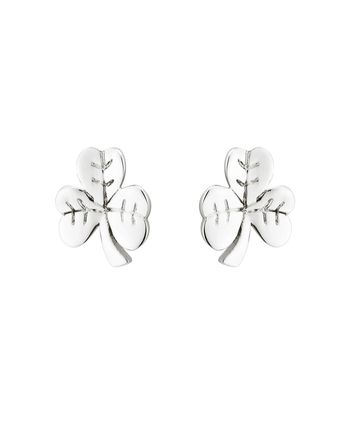 S/S SHAMROCK STUD EARRINGS