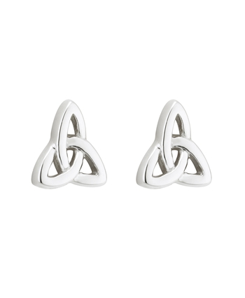 S/S TRINITY KNOT STUD EARRINGS